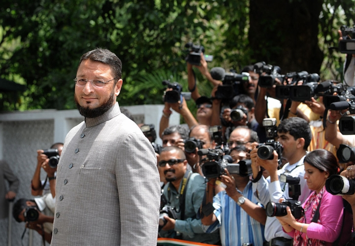 Why is Owaisi refusing to say Bharat Mata Ki Jai?