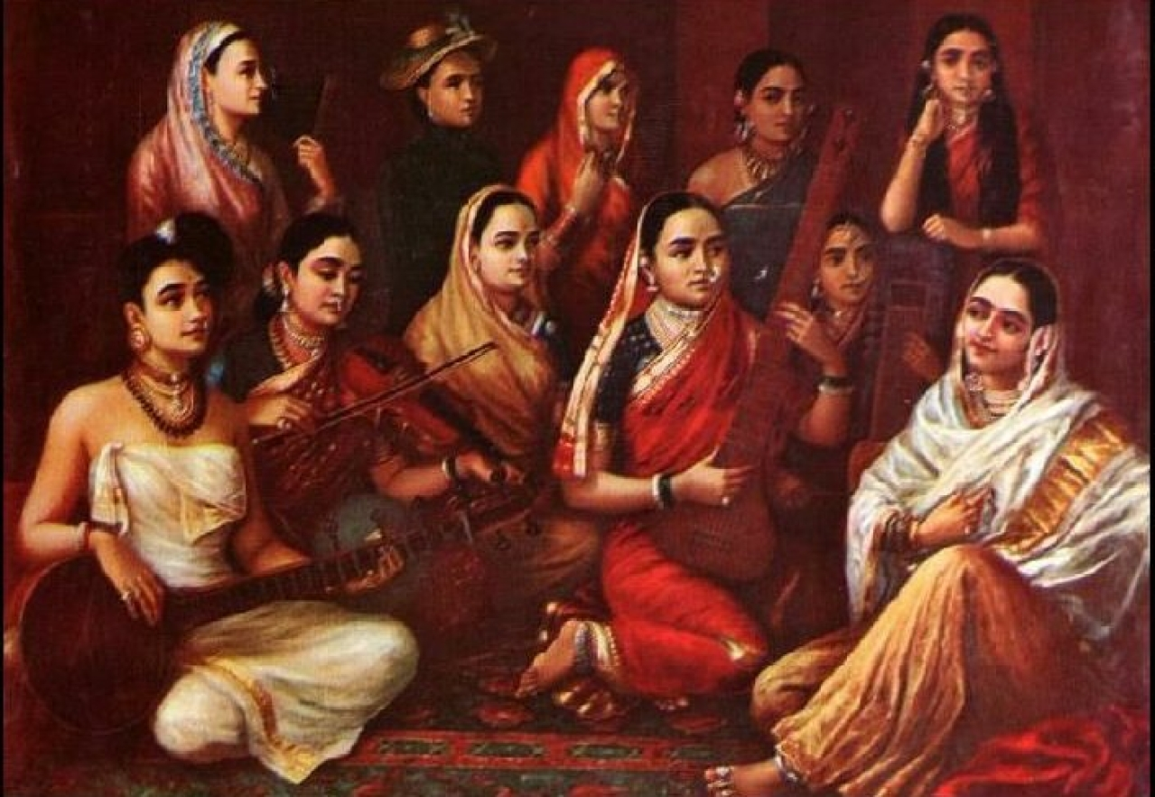 Raja Ravi Verma Paintings/Photo Credits: Wikipedia