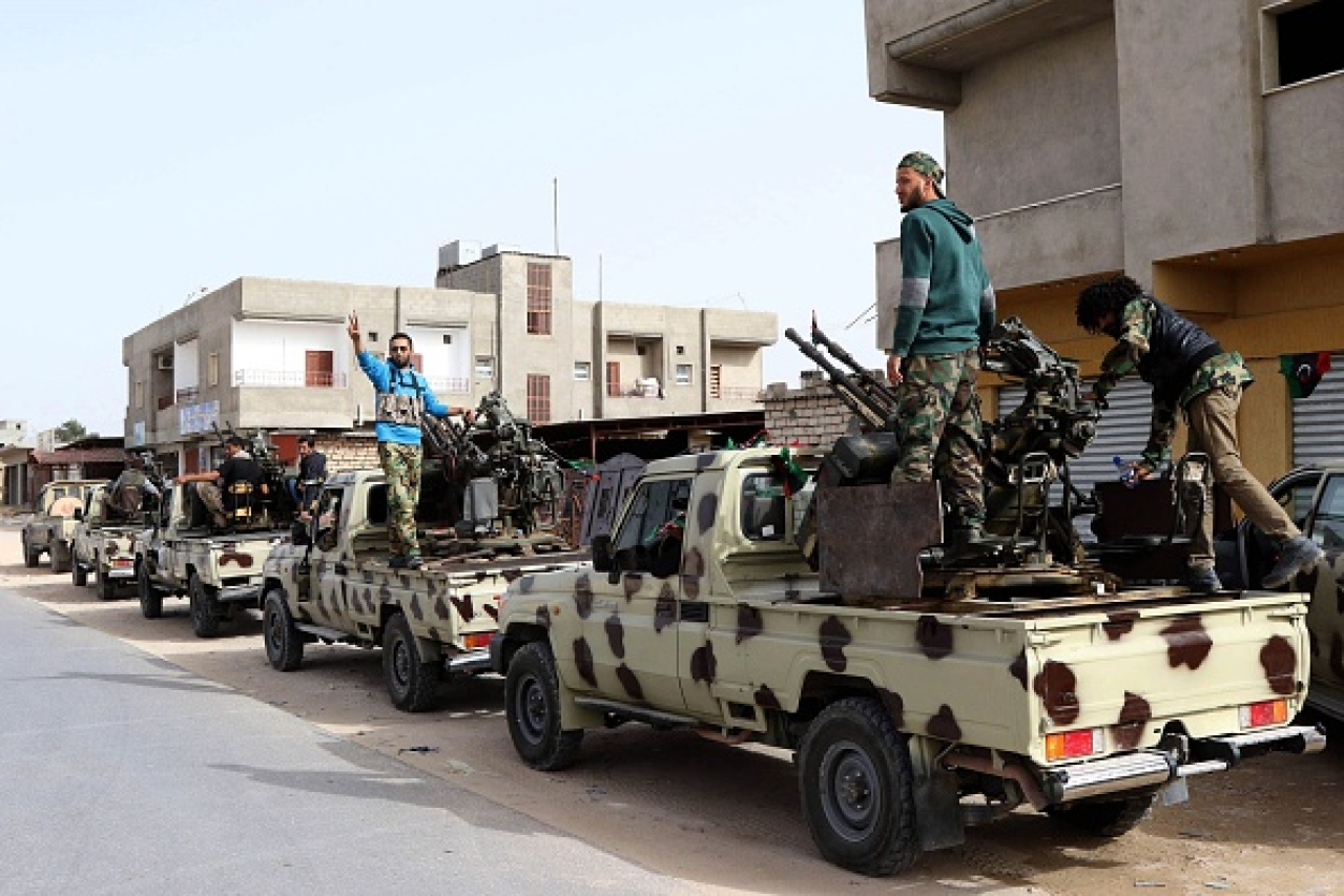 ISIS in Libya (Hazem Turkia/Anadolu Agency/Getty Images)