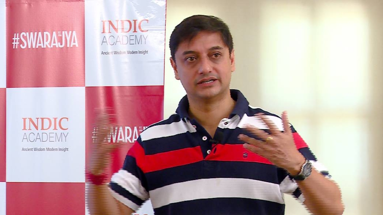 Sanjeev Sanyal speaking about his book writing experience.