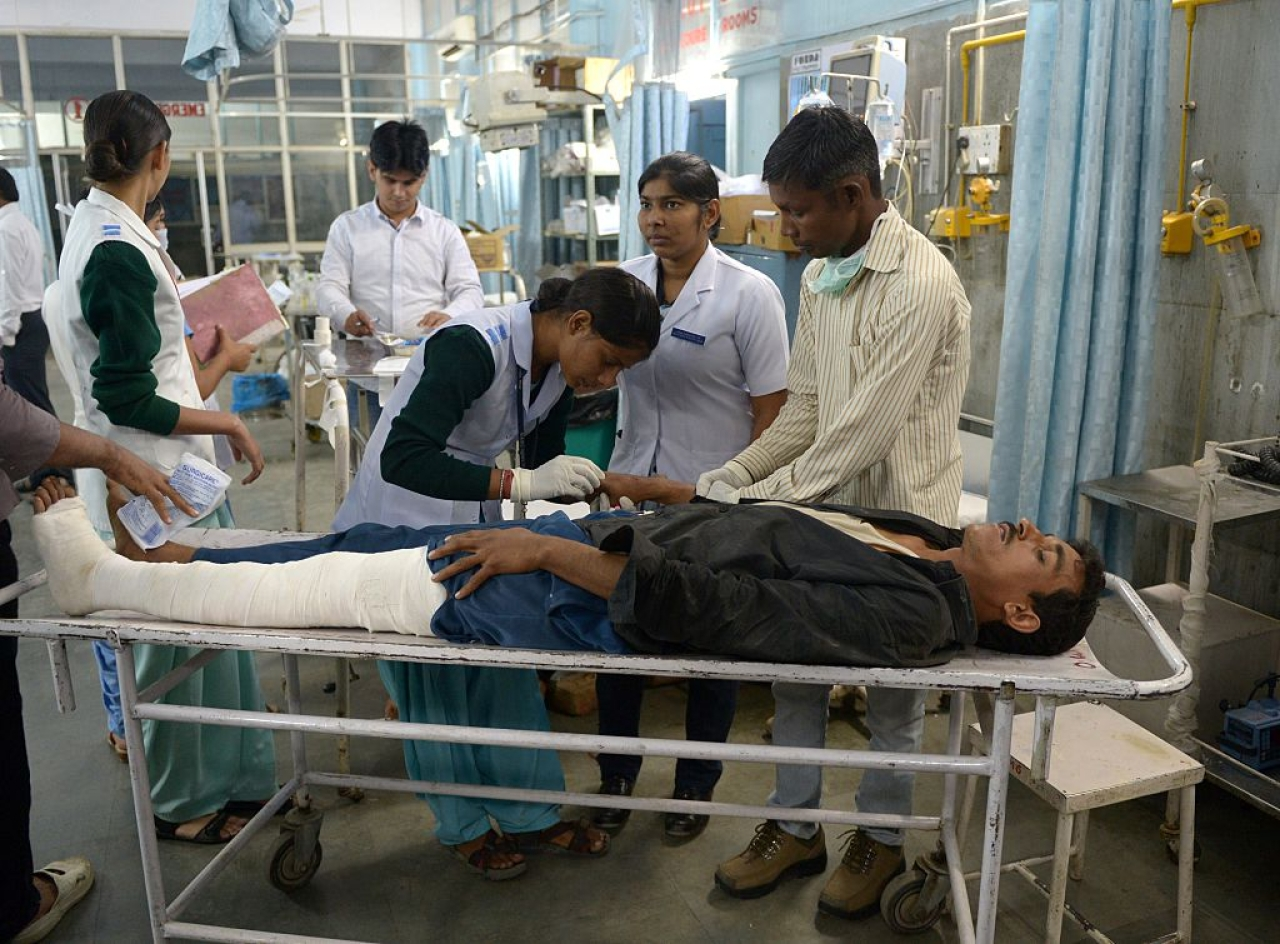 Health care in India. /gettyiamges
