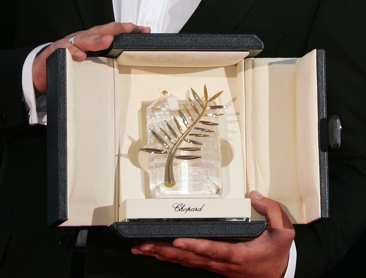 The Palme d'Or (ANNE-CHRISTINE POUJOULAT/AFP/Getty Images)
