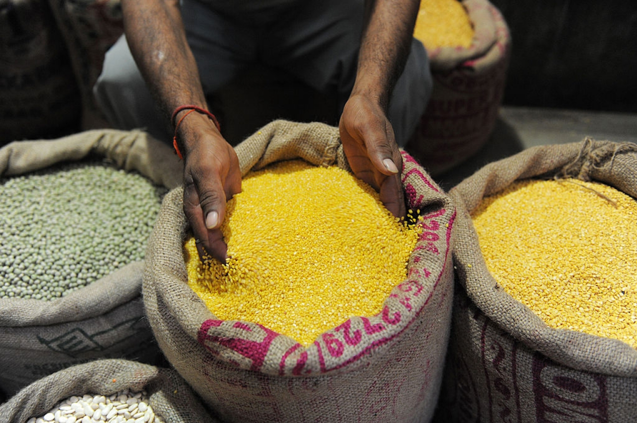 India food security (SAM PANTHAKY/AFP/Getty Images)