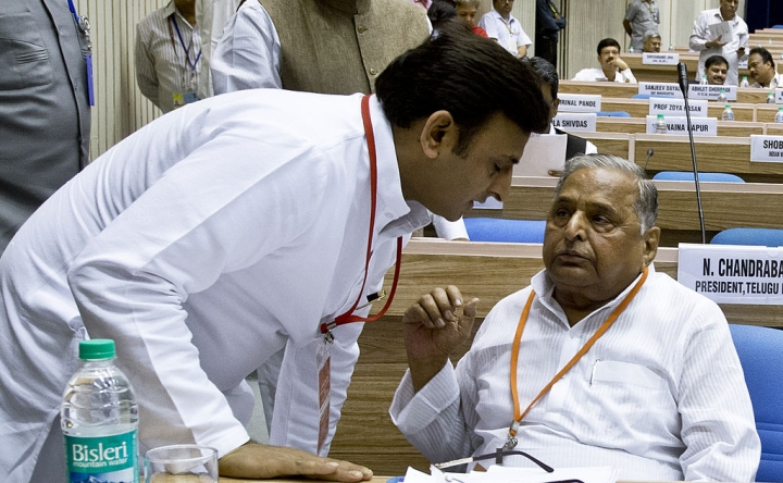 Out Of Their Five Strongholds, Members Of Samajwadi Party's 'First Family' Trailing In Two