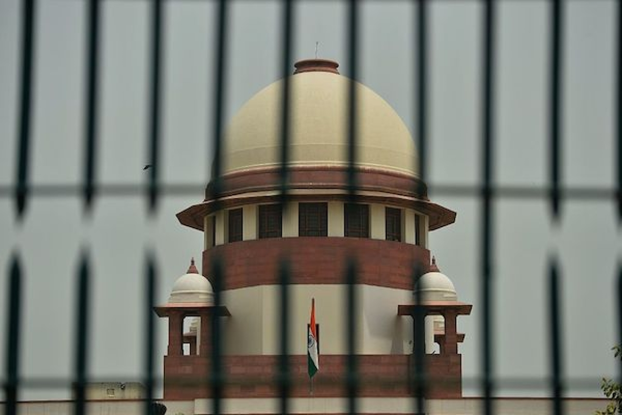 The Supreme Court of India. (SAJAD HUSSAIN/AFP/GettyImages)
