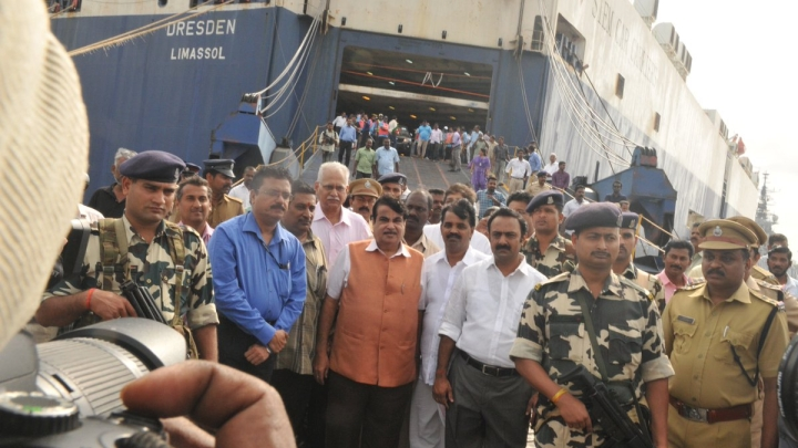 Moving Cars On Ship: Cochin Port Kicks Off Car Carrier Operations