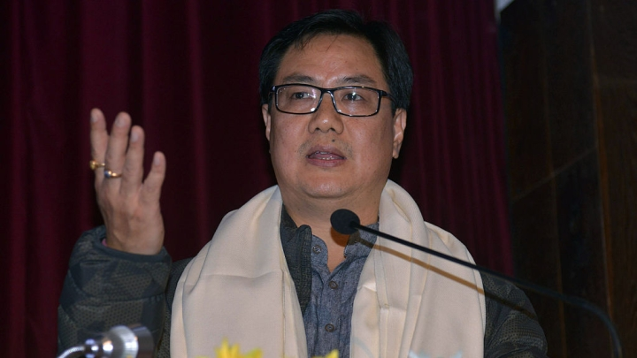 "Congress Attacks Rijiju For Condemning Anti-National Slogans, Says He Is Mixing Patriotism With ""Hatriotism"""