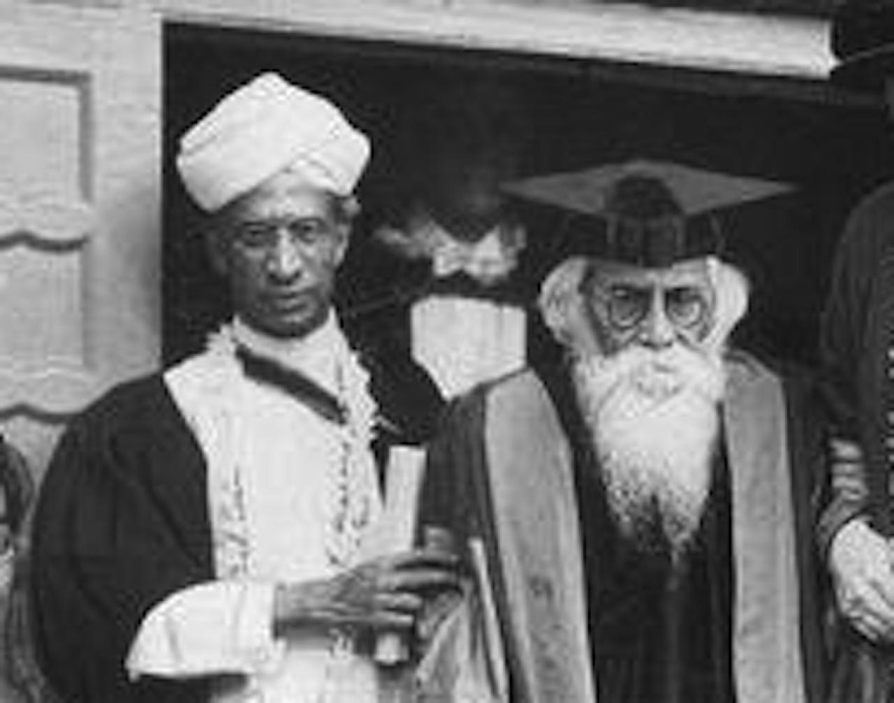 From the archives rabindranath and radhakrishnan