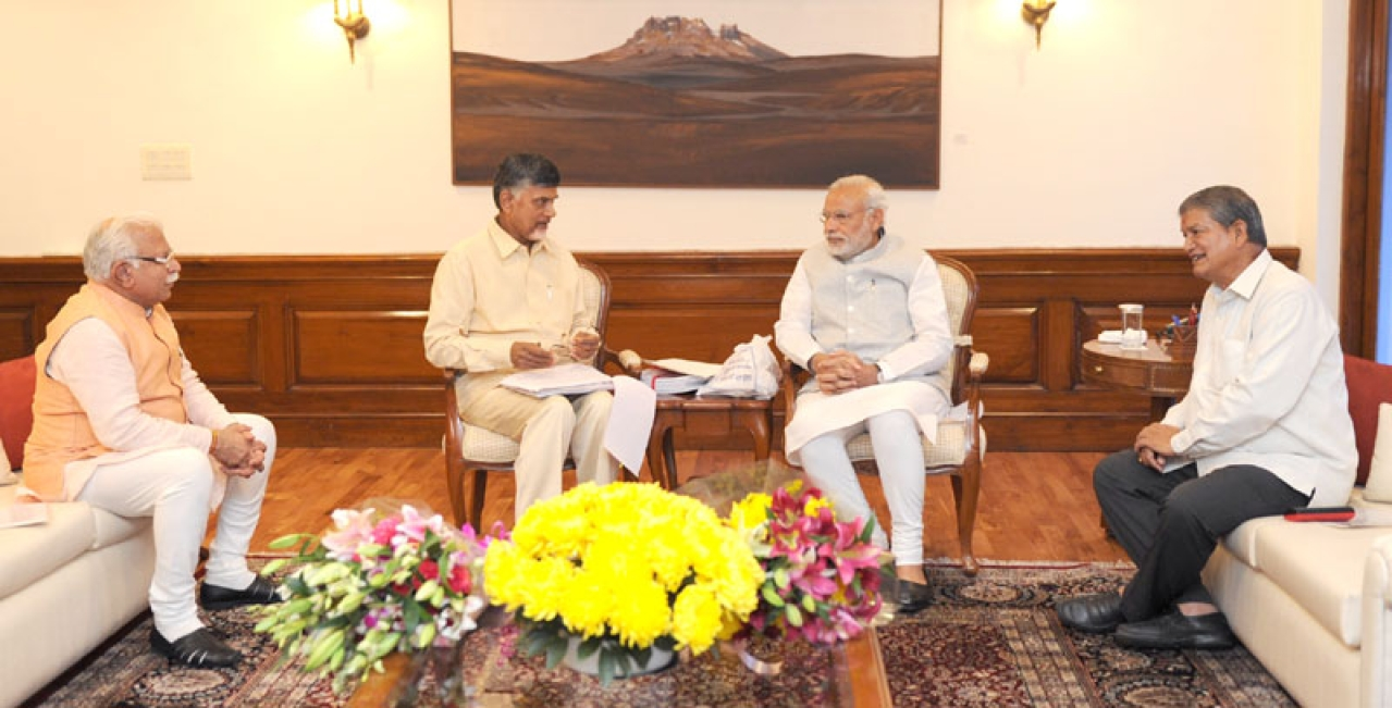 The Prime Minister and Chief Ministers