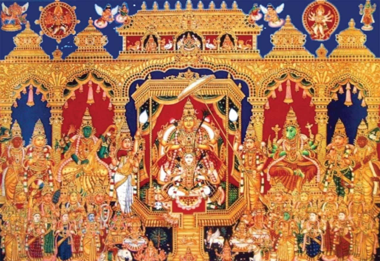 Goddess Lalita. Image Source- www.shalinshreeyantra.com
