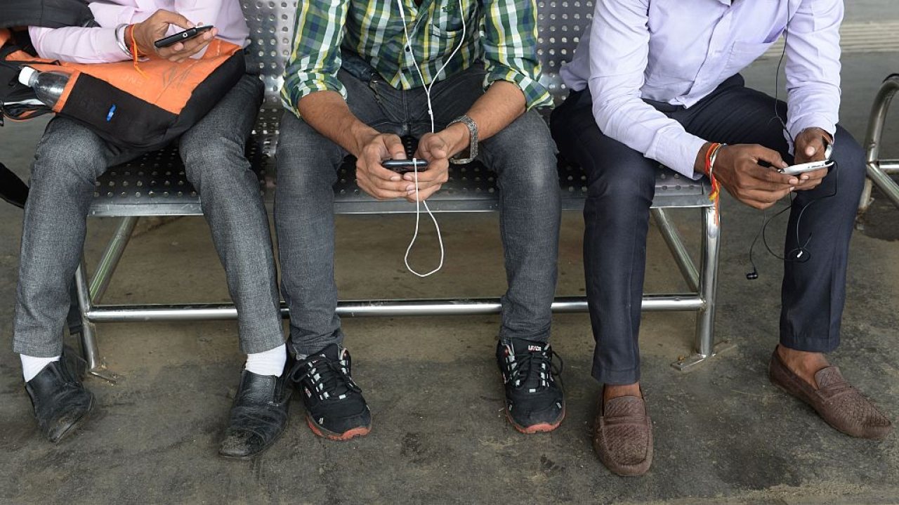 Data is king for India's telecom sector. (INDRANIL MUKHERJEE/AFP/Getty Images)