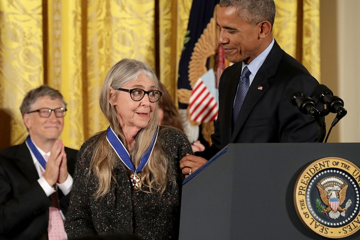 Obama Awards Highest Civilian Honour To Woman Who Helped Code Software That Put Man On Moon