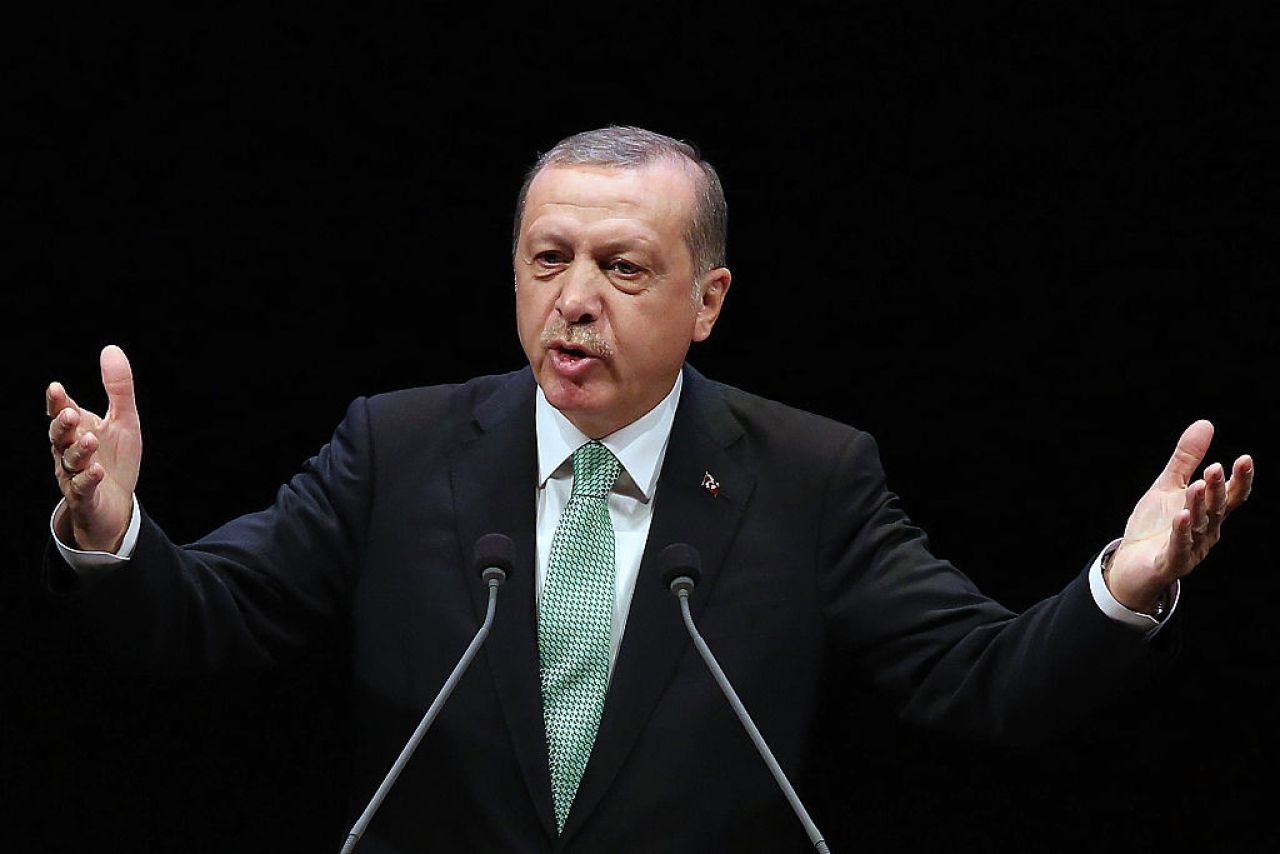 Turkish President Recep Tayyip Erdogan. (ADEM ALTAN/AFP/GettyImages)