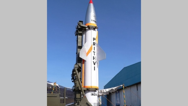 India Successfully Test-Fires Its Nuclear-Capable Prithvi-II Missile