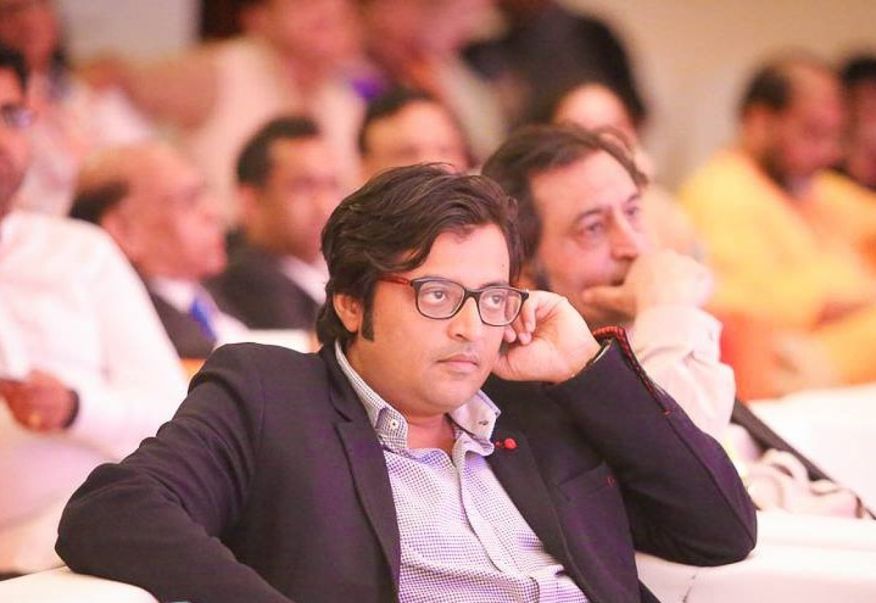 Former chief of Times Now, Arnab Goswami