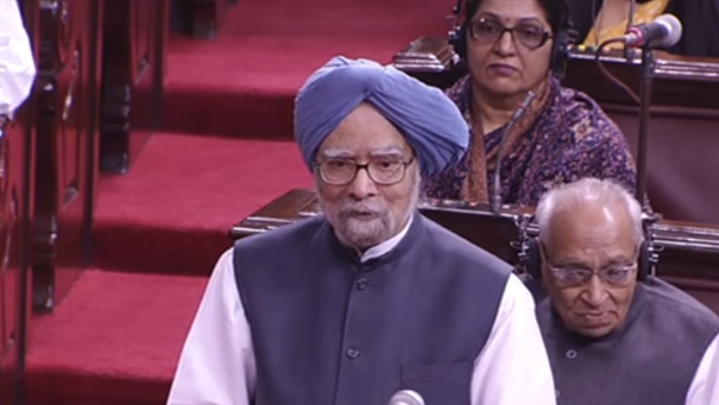 Manmohan Singh Set To Return To Rajya Sabha From Rajasthan