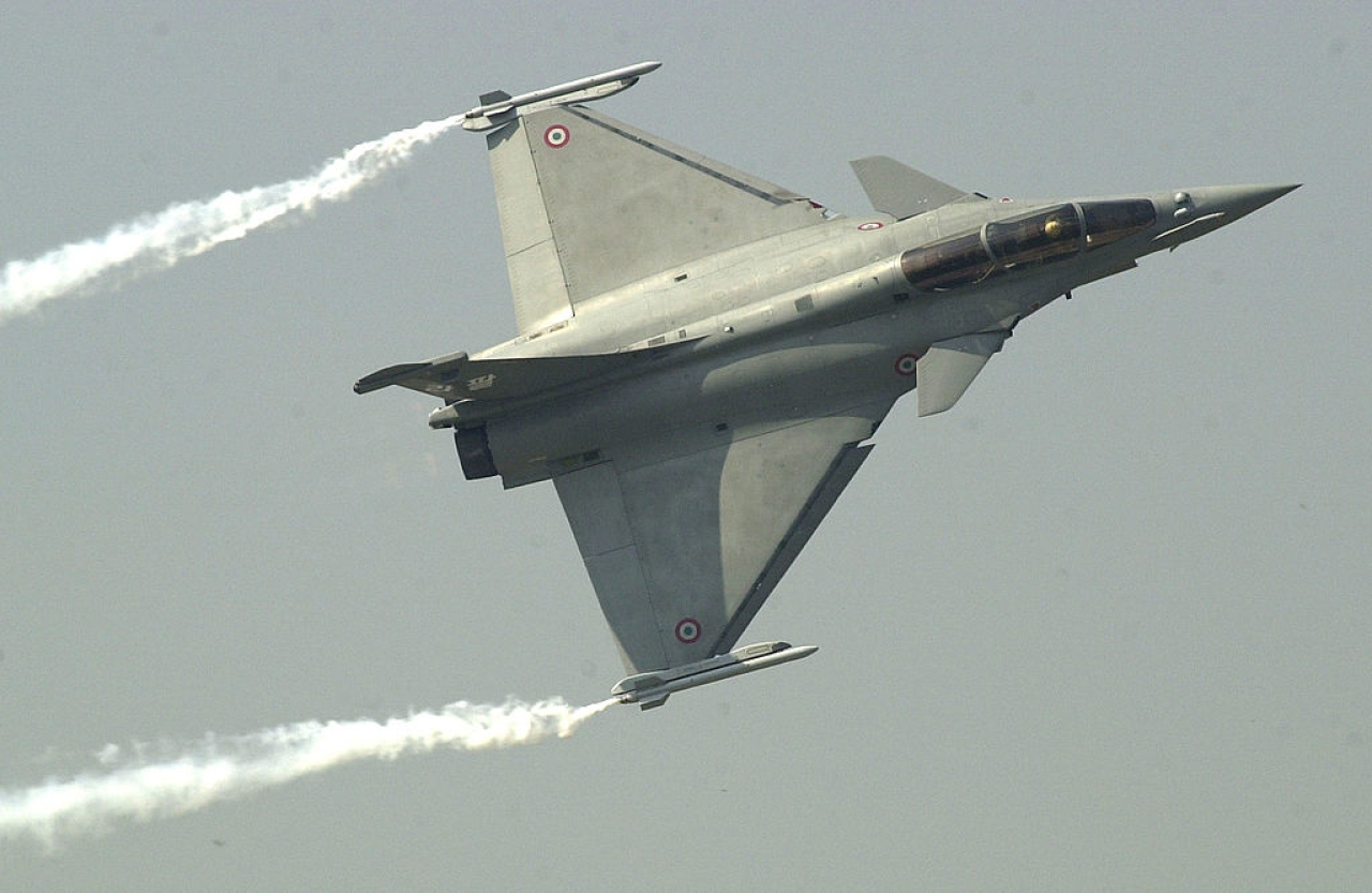 A Rafale fighter jet (EMMANUEL DUNAND/AFP/Getty Images)