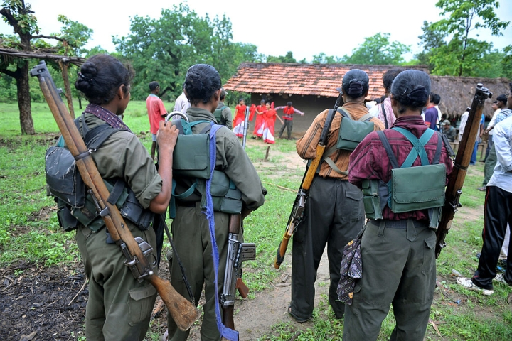 Police Conduct Aerial Survey Of Jharkhand-West Bengal Border To Track Down Injured Maoist Fugitives