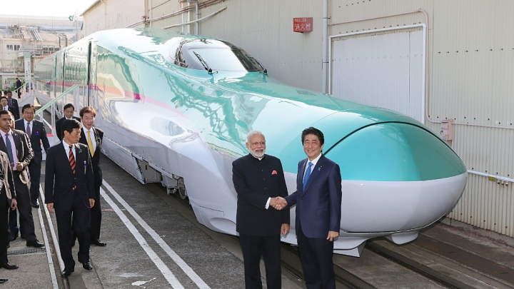Drilling Begins For Construction Of India's First Undersea Bullet Train Corridor