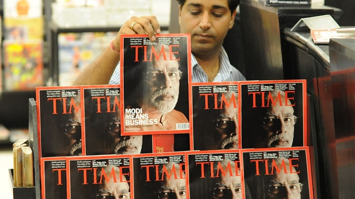 Prime Minister Narendra Modi Wins Reader's Poll For TIME Person Of The Year