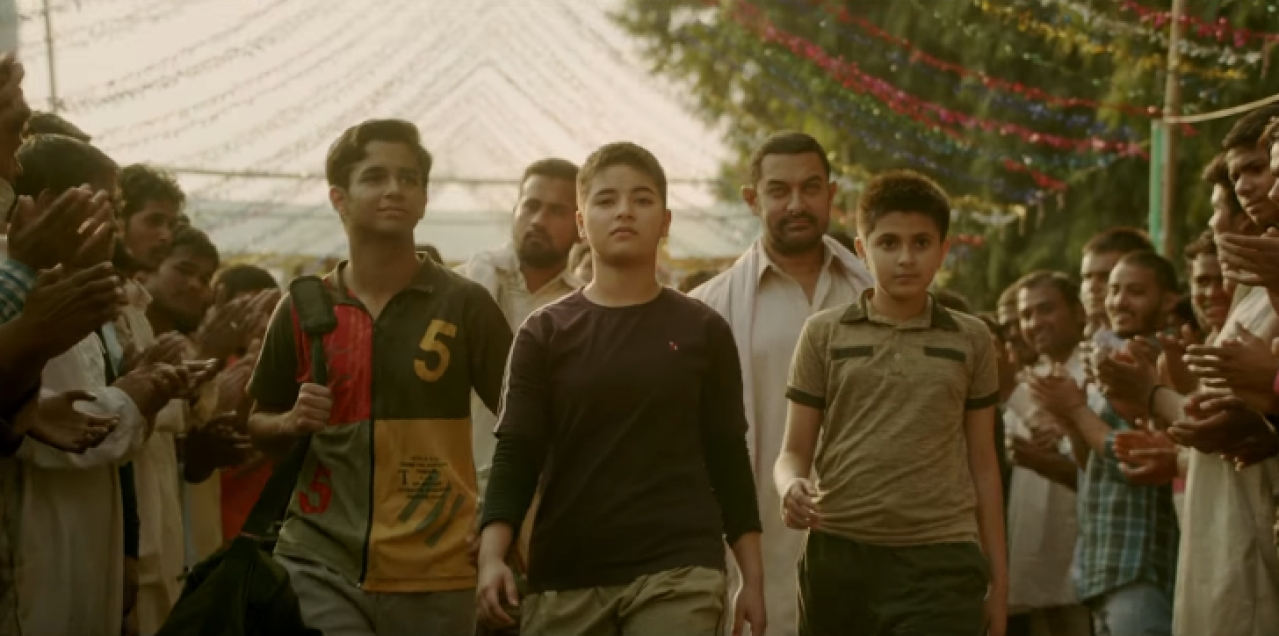 "A still from the movie Dangal (Source: <a href=""https://www.youtube.com/watch?v=x_7YlGv9u1g"">Dangal Official Trailer</a>)"