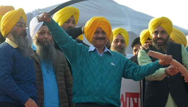Will The 'Vote For Kejriwal' Turn Punjab Into A Safe Haven For 'Khalistanis'?