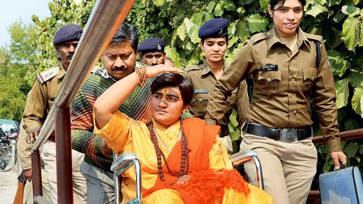 Elections 2019: BJP In The Lead In 26 Constituencies In MP; Pragya Thakur Ahead In Bhopal
