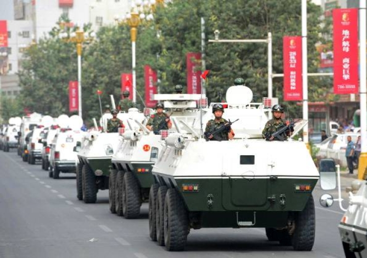 Chinese Military Holds Exercise With Latest Ballistic Missiles
