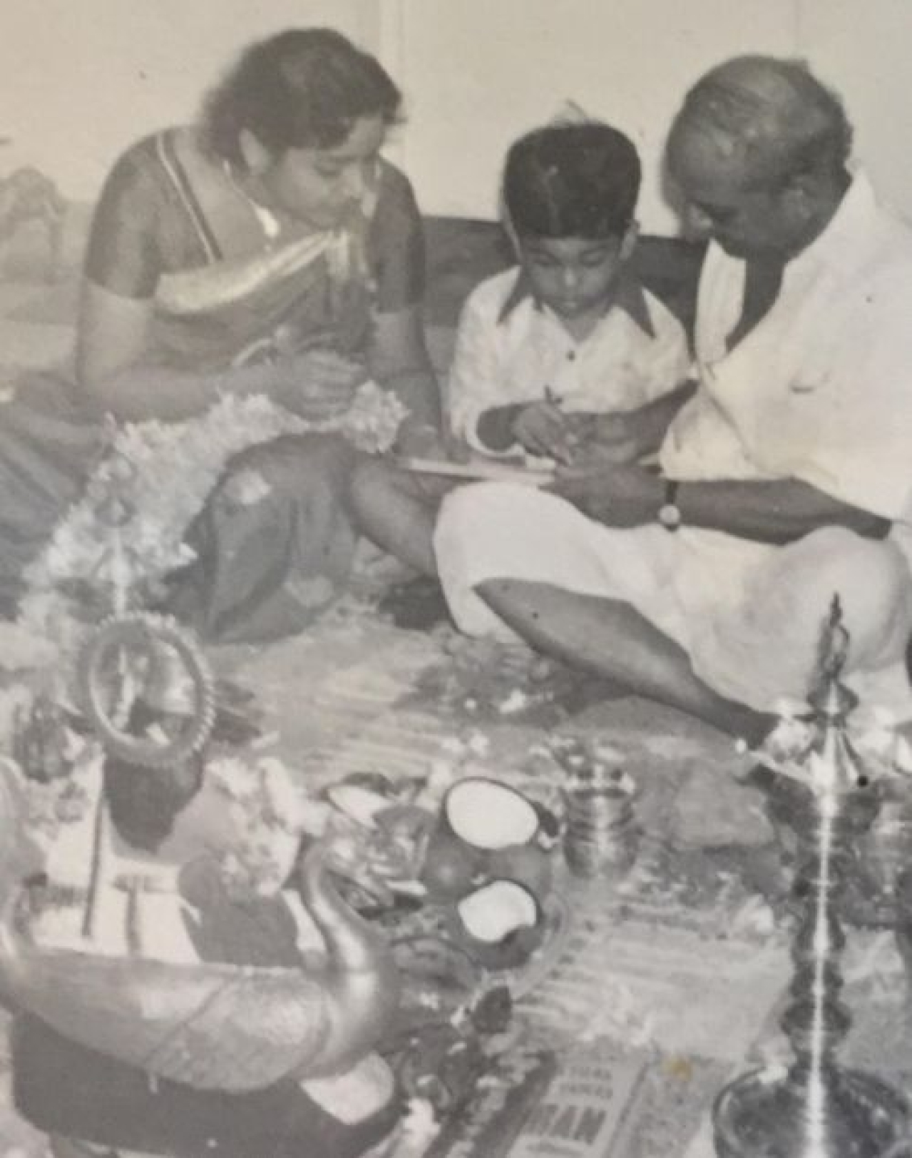 The author with Master Garu.