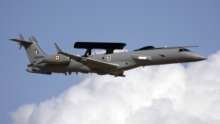 Soon Indian Air Force May Get An Upgraded A-50EI Airborne Early Warning And Control (AEW&C) Aircraft