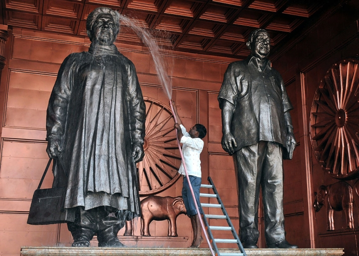 'Lord Ram Has A Statue': Mayawati Justifies Building Her Own Statues During Chief Ministerial Regime