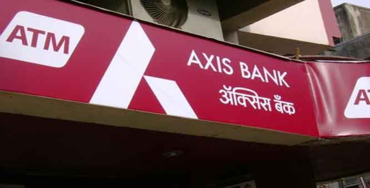 An Axis Bank branch in Mumbai.