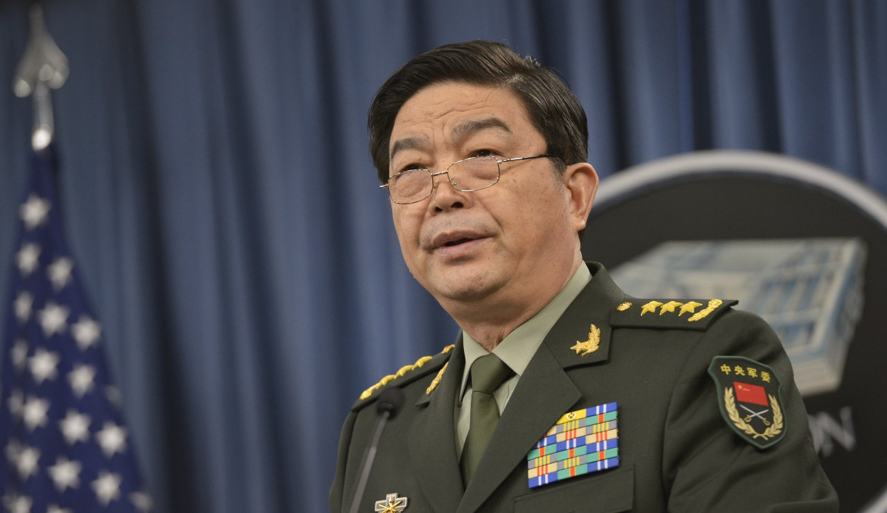 China's National Defence Minister Gen Chang Wanquan