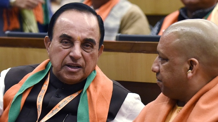 Subramanian Swamy Hails PM Modi's Selection Of Yogi Adityanath As UP CM