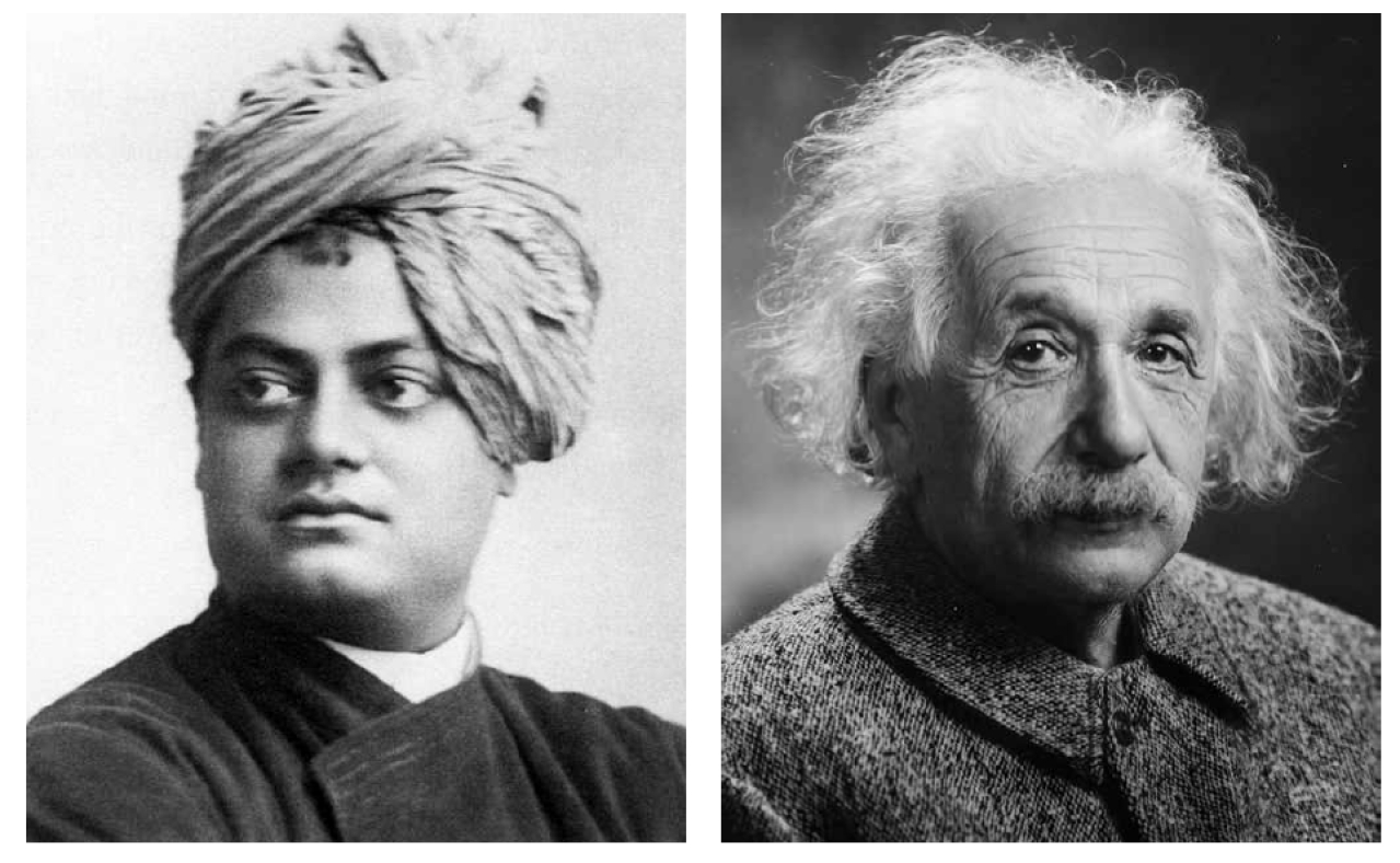 Vivekananda And Einstein