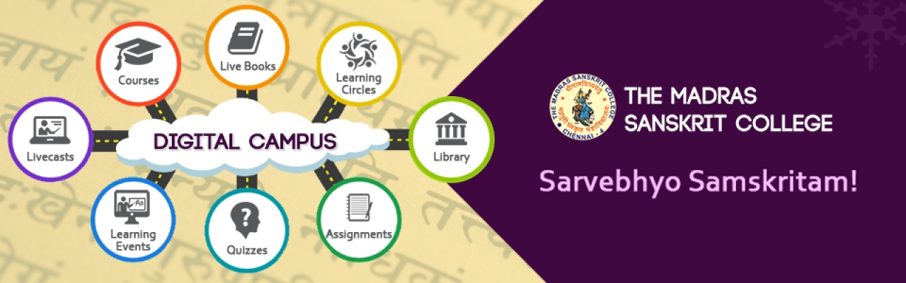 Madras Sanskrit College takes Sanskrit education online