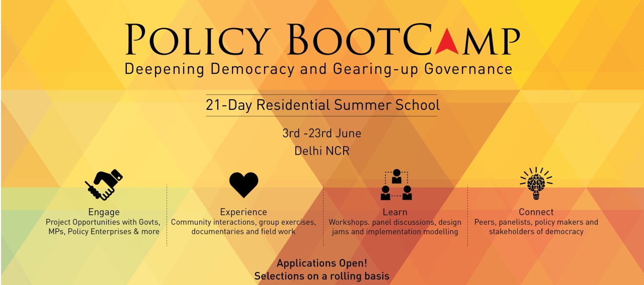 Applications for VIF Policy BootCamp are currently open.