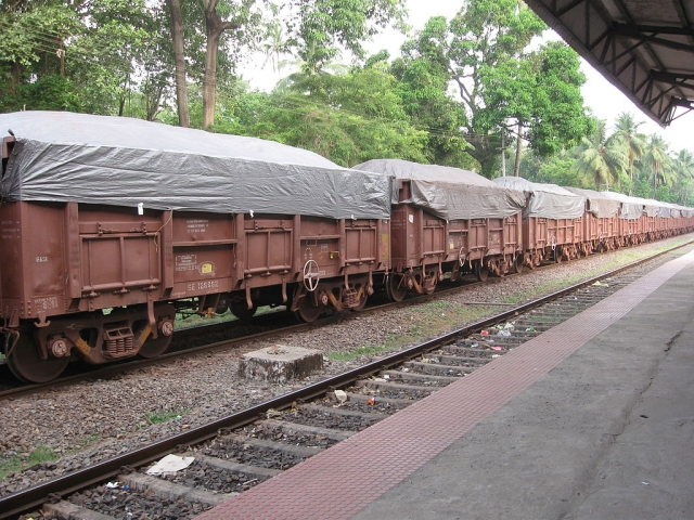 Goods Trains Chug Along Carrying Essentials Amid Fall In Bulk Loadings