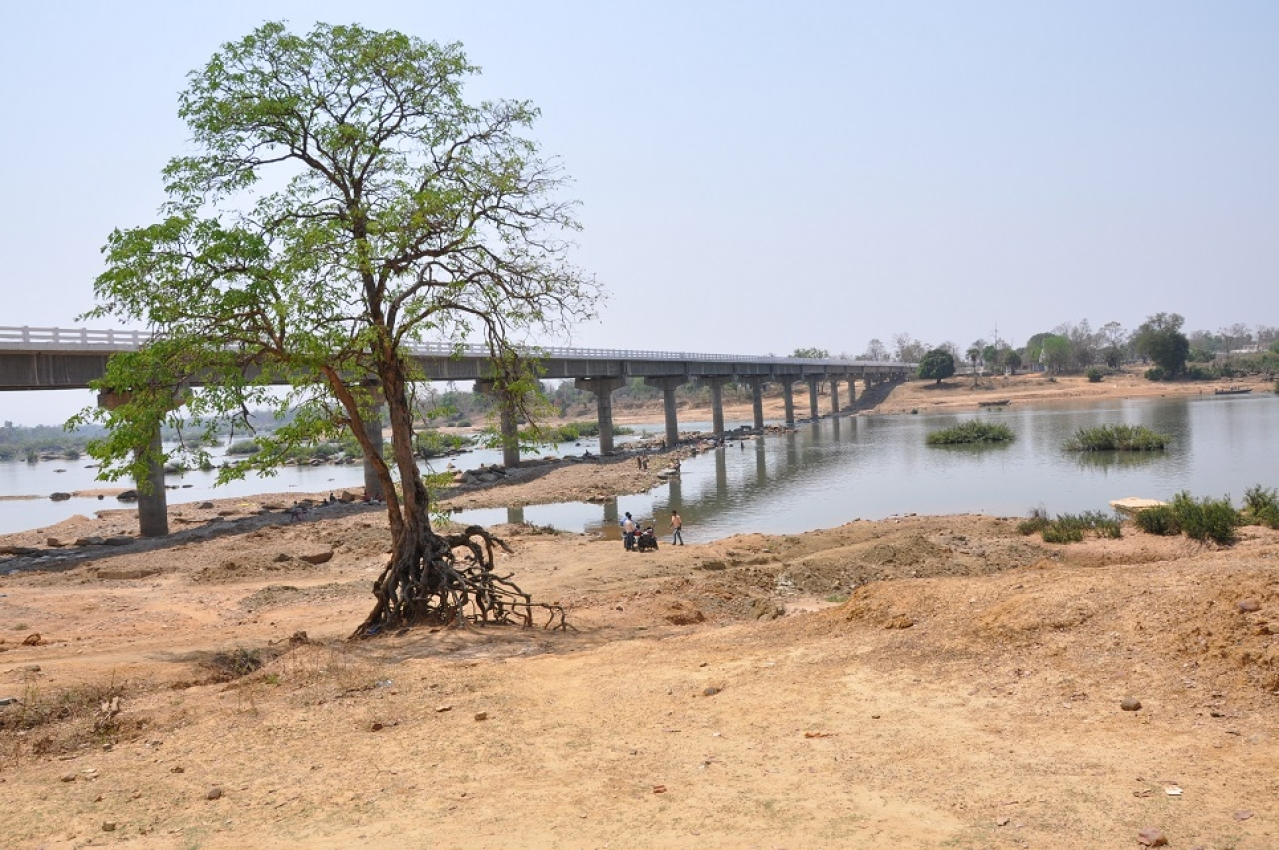 The newly-constructed bridge from Dornapal in Sukma to Odiama in Odisha that the Maoists have opposed. The bridge brings down driving time from Dornapal to Odisha by 12 hours