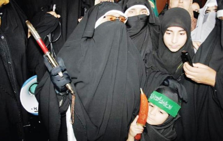 NIA Attaches Dukhtaran-e-Millat Chief Asiya Andrabi's Srinagar Home In Terror Financing Probe
