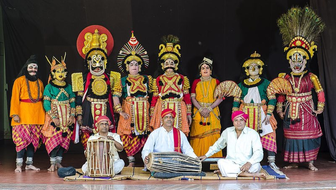 A showcase of Indian heritage. (Regional Resource Center Udupi/Wikimedia Commons)
