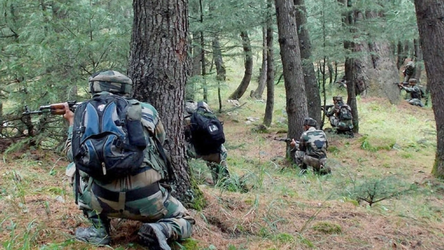 J&K: Two Terrorists Gunned Down By Security Forces In An Encounter In South Kashmir's Kulgam District
