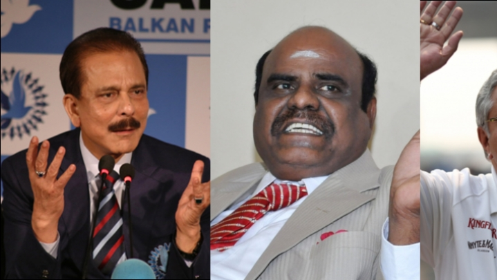 How  Mallya, Subrata Roy And Justice Karnan Courted Their Own Downfall