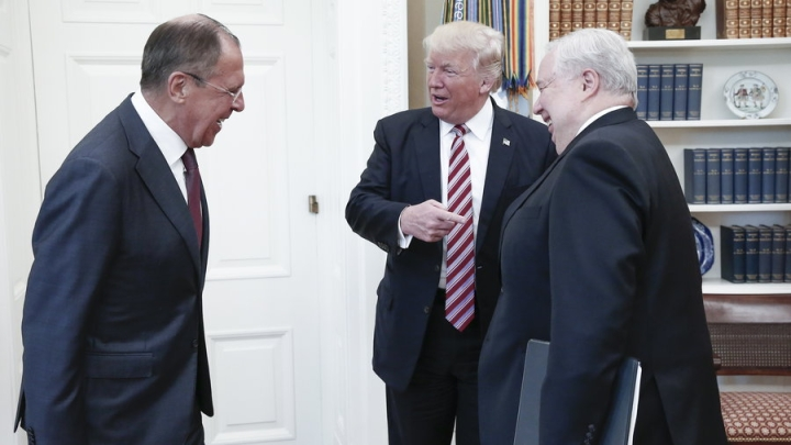 Report Claims Trump Shared Classified Information With Russia, White House Rejects It As Fake News