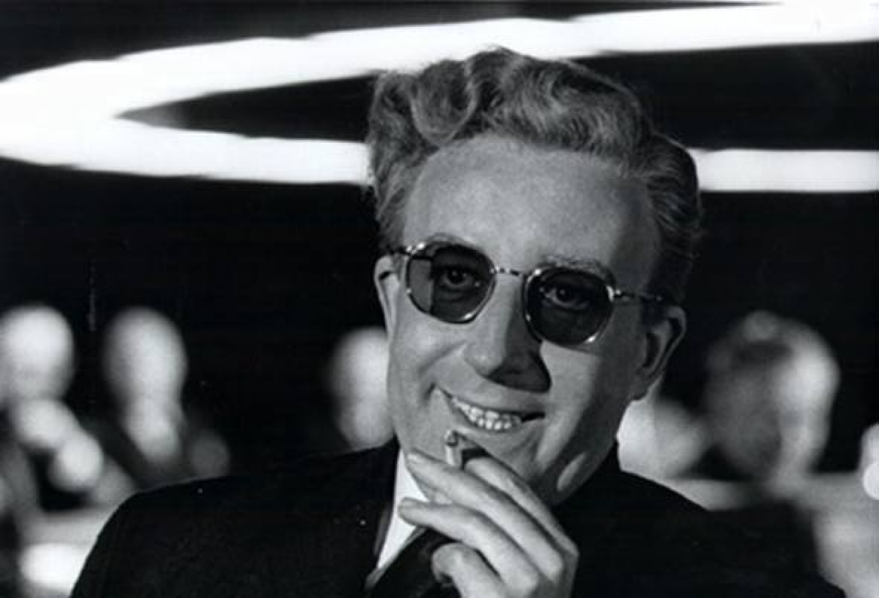 Peter Sellers as Dr Strangelove (Paolo Attivissimo/Flickr)