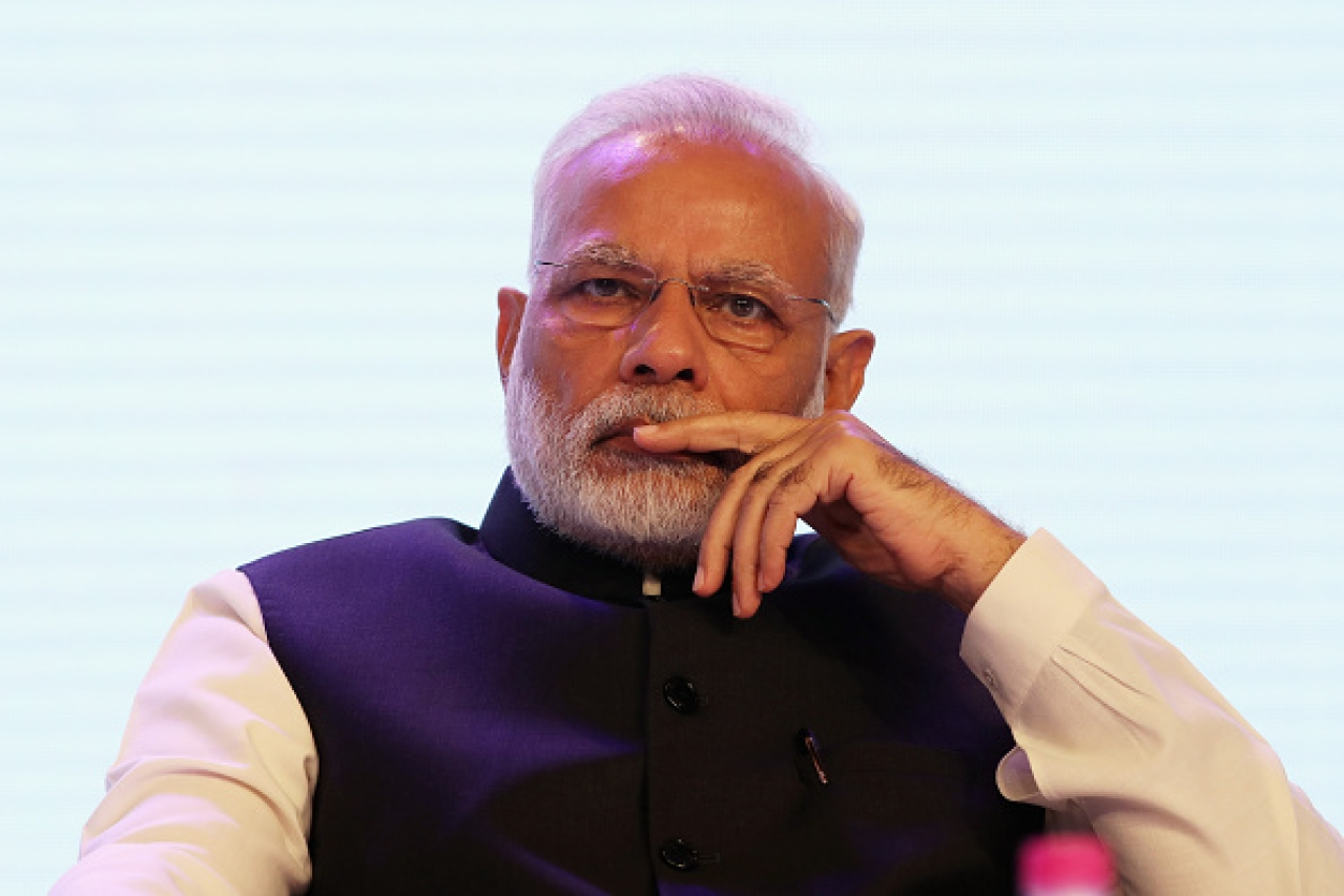 Prime Minister Narendra Modi has to reassure the nation, now. (Dan Kitwood/Getty Images)