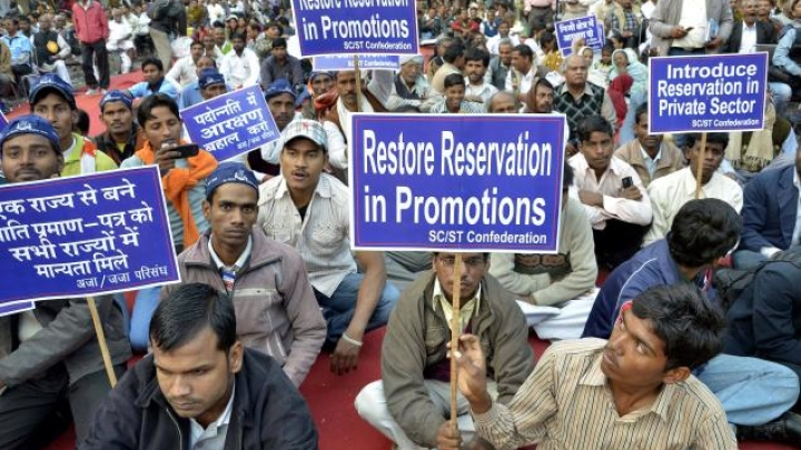 Government Plans To Push Ahead With SC/ST Quota In Promotions