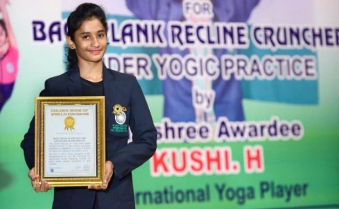 Watch: 13-Year-Old Mysuru Girl Sets A World Record In Yoga