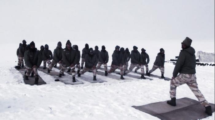 Watch: Indo-Tibetan Border Police Celebrate Yoga Day