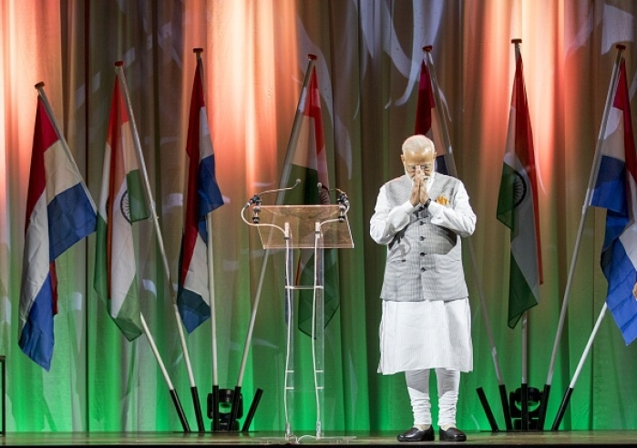 Watch: Narendra Modi Address the Indian Community In The Netherlands